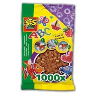 SES Ironing beads-Brown, 1000pcs.