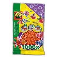 SES Ironing beads-Orange, 1000pcs.