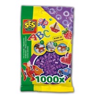 SES Ironing beads-purple, 1000pcs.