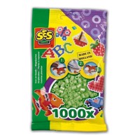 SES Ironing beads-Mint green, 1000pcs.