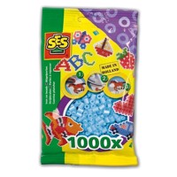 SES Ironing beads-light blue, 1000pcs.