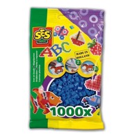 SES Ironing beads-dark blue, 1000pcs.