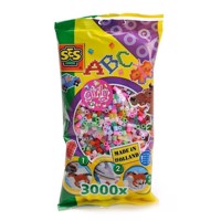 SES Ironing beads girls, 3000pcs.