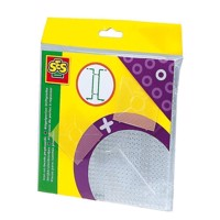 SES Ironing Beads Torque Plates-Transparent
