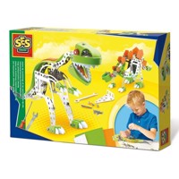 SES Metal Construction Set Dino