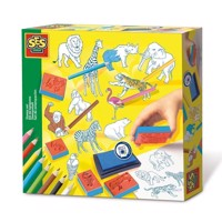 SES stamp kit Zoo