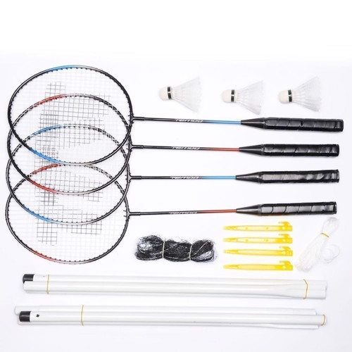 Complete Badmintonset, 4 players