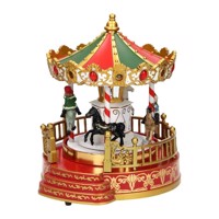 Christmas carousel with LED-B