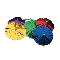 Is / drinks parasol, Metallic, 8 stk