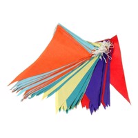 Flags line color, 20mtr.