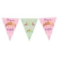 Flags line Princess Party, 6mtr.