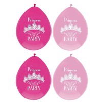 Princess Party balloons, 6pcs.