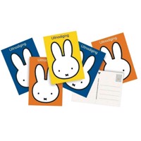 Invitations Miffy, 6pcs.