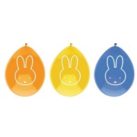 Balloons Miffy, 6pcs.