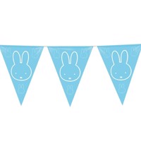 Flags line Miffy blue, 6mtr.