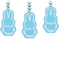 Miffy dekoration 3 stk