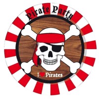 Signs pirates, 8pcs.