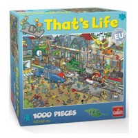 That's Life-train station, 1000pcs.