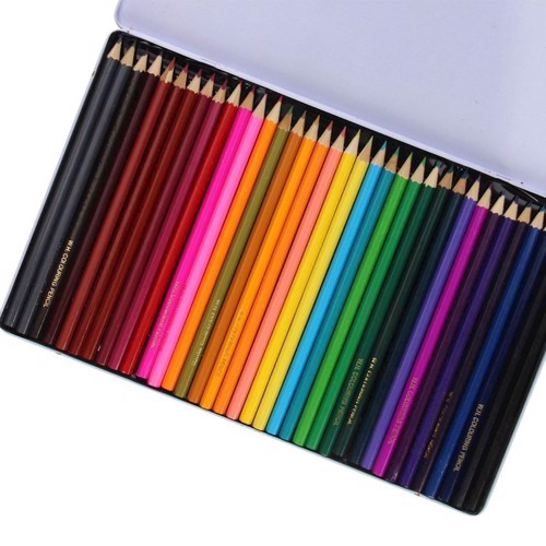 Colored Pencils in Tin, 36 pcs