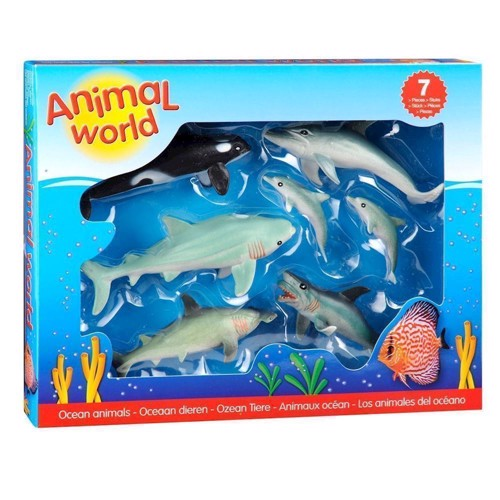 Ocean Animals Giftbox, 7st.