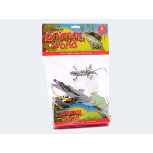 Animal World Reptiles, 6st.