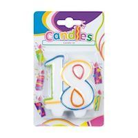 Birthday candle-18 years