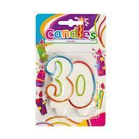 Birthday candle-30 years