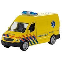 Ambulance with light and sound