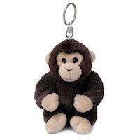 WWF Plush-Chimp key chain, 10 cm