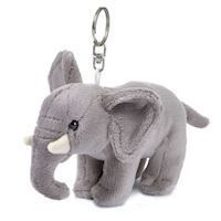 WWF Plush-elephant key chain, 10 cm