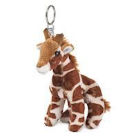 WWF Plush-Giraffe key chain, 10 cm