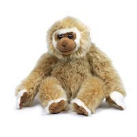 WWF Plush-Gibbon Sitting, 23 cm