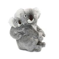 WWF Plush-Koala with Baby, 28 cm