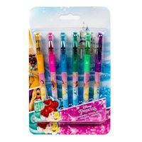 Disney Princess gel pens, Tusser, 6 stk