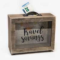 Savings suitcase 'Travelsavings'