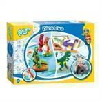 Totum Dino's Ironing Beads and Plaster Casting, 2in1