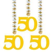 Hang decoration-50 years, 3pcs.