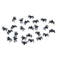 Table decoration spiders, 25pcs.