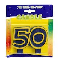 Birthday candle-50 years