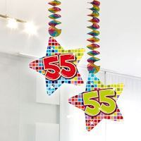 Hang Decoration Blocks Happy Birthday