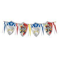 Flags line Knights, 6mtr.
