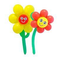 Balloon Set Flowers