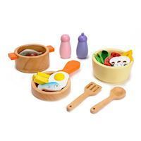 Mentari Wooden Cookware Set