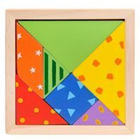 Wooden Tangram Puzzle