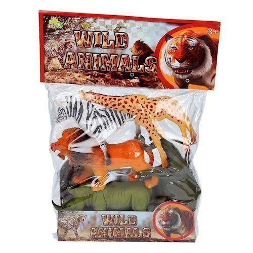 Wild animals Playset, 5pcs.