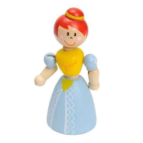 Wooden Flexible Princess-Red Hair