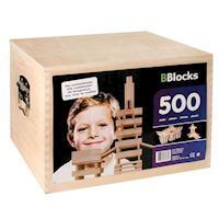 BBlocks coffin, 500 PCs.