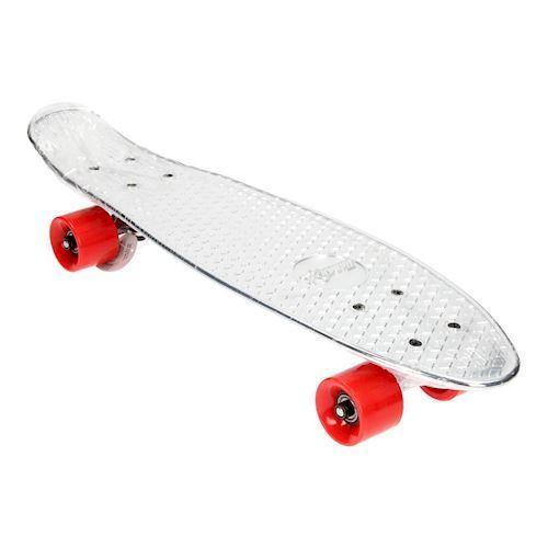 Skateboard Chrome Red