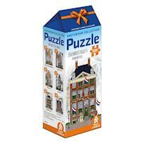Amsterdam Puzzle - Rembrandthuis Jodenbreestraat 4, 500st.