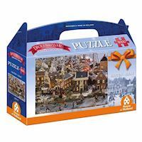 Dickensville Elf Cities Puzzle - Locks, 1000pcs.